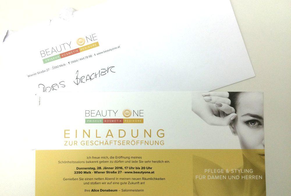 BeautyOne eröffnet in Melk