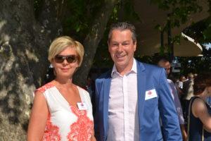 Marie-Luise Fonatsch & Harald Burger genossen das Sommerfest in Grafenegg
