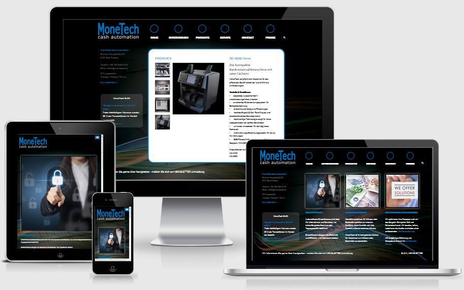 Website MoneTech.at ist online