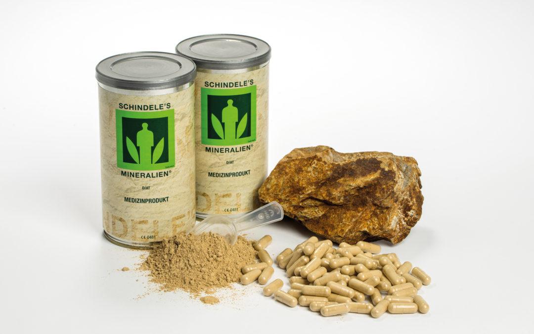 Schindele's Mineralien jetzt Medizinprodukt