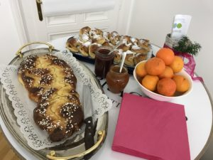 Frühstück im Advent - Spende für den Lerntreff Melk